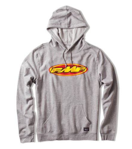 FMF Unisex-Adult Heather Don Hoodie (Gray, Large) Don Hoody