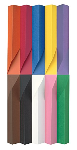 Pacon SunWorks Construction Paper, 12-Inches by 18-Inches, 100-Count, Assorted (6508)