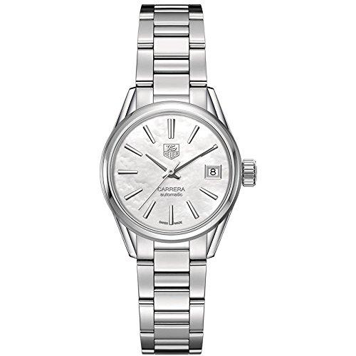 TAG Heuer WAR2411.BA0770 - Reloj para mujeres, correa de acero inoxidable color plateado