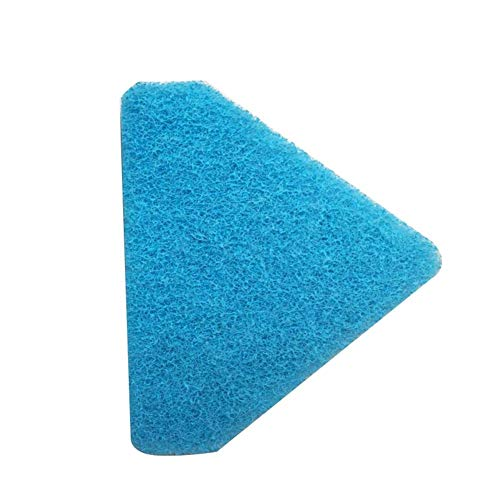 (Lamptti Fish Tank Sponge Cleaning Brush Retractable Aquarium Cleaning Tool Triangle Brush Cleaner with Long Handle for Cleaning Glass Higher Places)