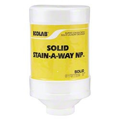 Ecolab Solid Stain-A-Way 2lb 13649 by Solid Stain-A-Way