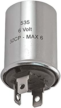 3 Prong 6 Volt MACs Auto Parts 49-21123 Turn Signal And Hazard Flasher