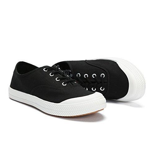 Scarpe di aiutare gli studenti WFL uomo basse scarpe autunno casual per scarpe da stoffa Nero traspiranti scarpe marea di tela TAdqA