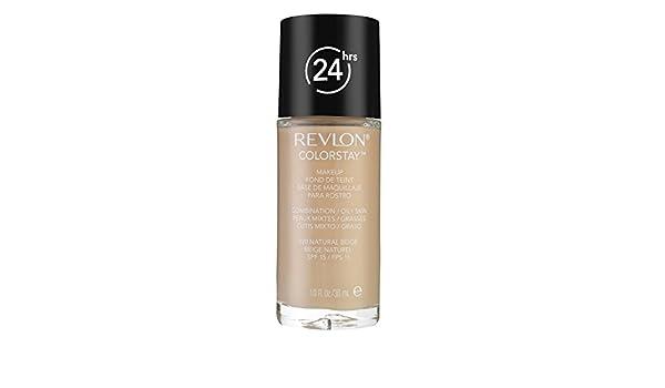 Amazon.com : Bases De Maquillaje Recomendadas Para Piel Grasa - Color Beige Natural - Envase De 1 Onza : Beauty