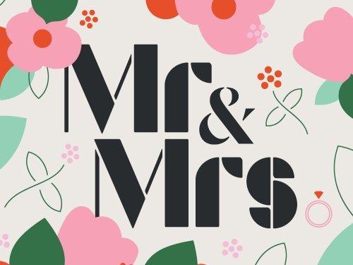 Mr & Mrs gift card link image