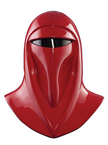 Rubie's Star Wars Adult Supreme Edition Imperial Guard Helmet, Red, One Size Costume ()