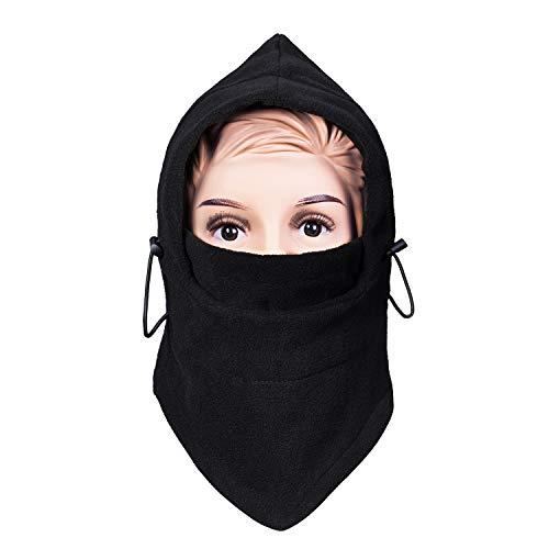 Unisex Children Balaclava Winter Hat, Soft Warm Fleece Kids Ski Cap Face Cover Mask Winter Hat for Outdoor Sports