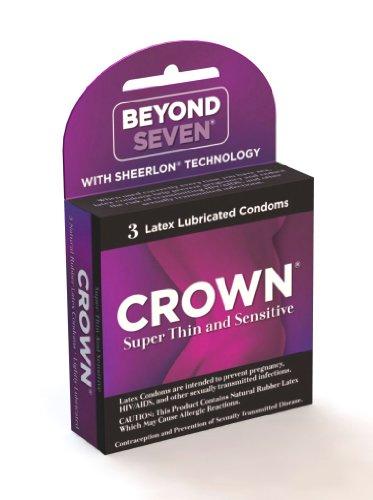 Okamoto Crown, 3 Count (Pack of 4) (Okamoto Crown Skinless Skin Condoms)