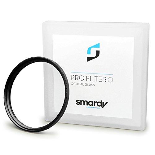 smardy 49mm Filtro UV Ultravioleta para Sony Alpha 3000   Alpha 7R   NEX-3   NEX-5   NEX-5N   NEX-5R   NEX-7   NEX-C3   NEX-F3 y Mucho mas + High-Tech pano de Limpieza