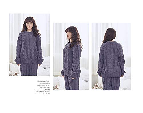 Pajamasx Di Xl165 E Caldo Servizio Pigiama 75kg Invernale 65kg 170cm A Uomini 170cm55 Lunghe 65 Donne L165 Vestito Maniche Casa vArvnBR