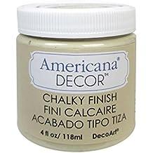 DecoArt Americana Chalky Finish Paint 4oz-Timeless