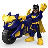 Fisher-Price Imaginext DC Super Friends Batgirl and Cycle Figure Pack