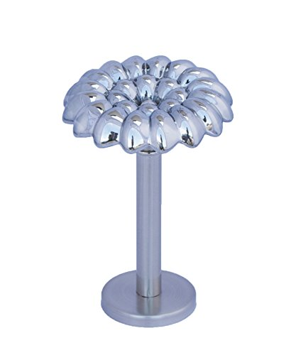 Urbanest Vetro Designer Decor Mercury Glass Drapery Medallion Holdback 1pcs 0799471481394
