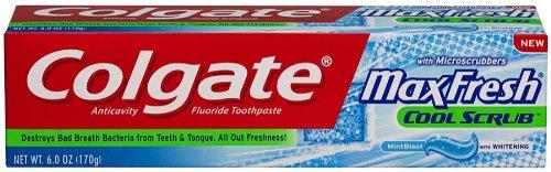 Colgate Fresh Scrub Toothpaste Ounce