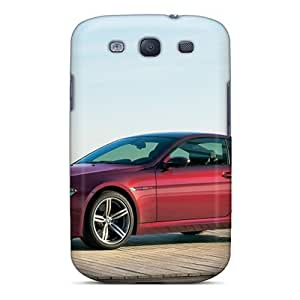 Cute Appearance Covers/tpu OkJ3096emhU Red Bmw M6 Side View Cases For Galaxy S3