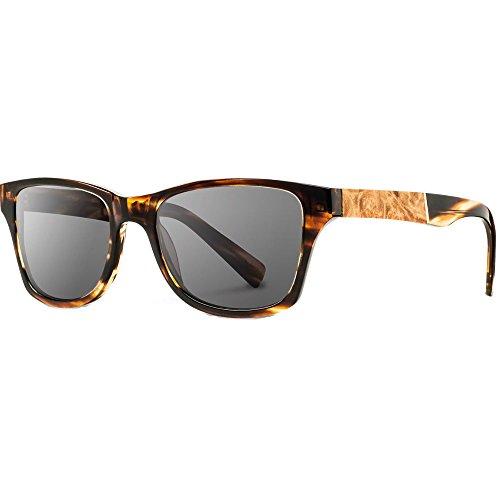 Shwood - Canby Acetate, Sustainability Meets Style, Tortoise/Maple Burl, Grey Polarized - Shwood Canby