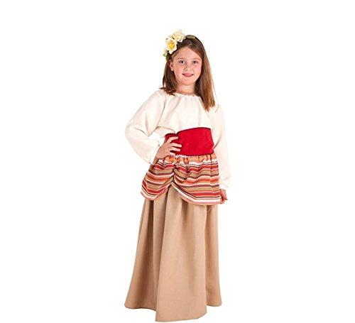 09b8039c9 Creaciones Llopis Disfraz de Campesina Medieval Carlota para niña ...