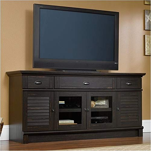 BOWERY HILL 71 TV Stand in Antiqued Paint