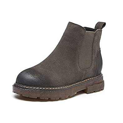 Amazon.com: Women's Ankle Booties Fashion Casual Low Heel