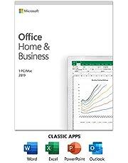 Microsoft Office Famille et Entreprise 2019 | Achat unique, 1 utilisateur | Carte PC/Mac