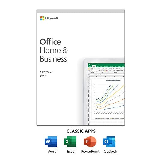 Microsoft Office Home and Business 2019 for 1 User