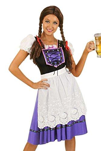 ZEVONDA Ladies Bavarian Oktoberfest Costumes Cocktail Party Fancy Dress ()