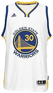 Stephen Curry Men's White Golden State Warriors adidas Swingman Jersey Small