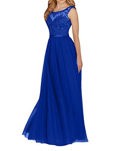 Spitze Royal La Jugendweihe Festlichkleider Langes Rock Brau Promkleider Abendkleider A mia Partykleider Kleider Blau Linie qwROTE