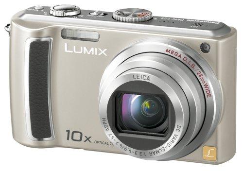 Panasonic デジタルカメラ LUMIX (ルミックス) シルバー DMC-TZ5-S