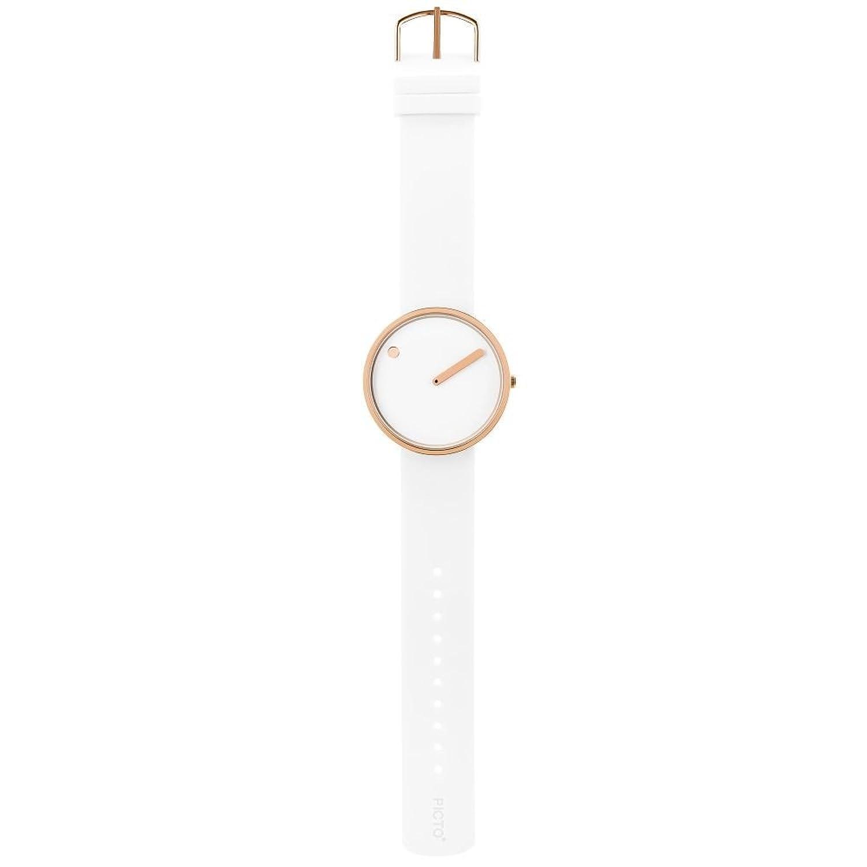 Rosendahl Herren-Armbanduhr Analog Quarz One Size - weiß - weiß