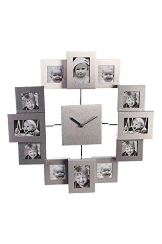 OUT OF THE BLUE 79/3120, Reloj de Pared con 12 Marcos de Cuadros ...