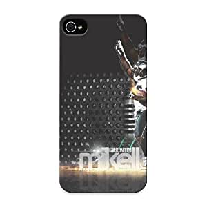 New Fashionable Honeyhoney XODlFr-570-gLxqq Cover Case Specially Made For Iphone ipod touch4(quintin Mickell The Best Nfl Player)