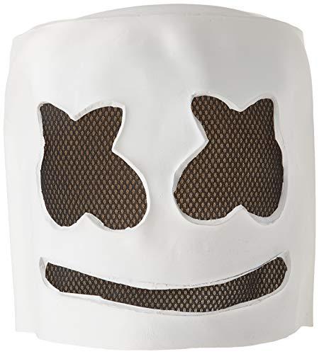 SHUTAO MarshMello DJ Mask Full Head Helmet Halloween Cosplay Mask Bar Music -