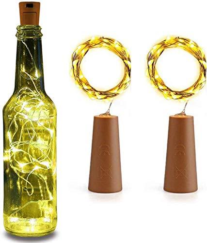 Bottle Cork led String Lights for Wine Bottles Bottle Cork Lights – Bottle Cork Lights Strip Lights for Garden…