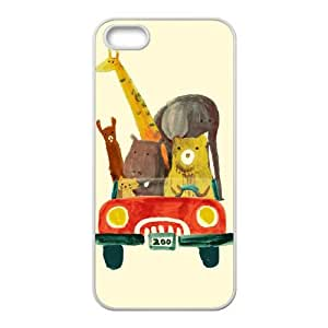 Visit The Zoo Iphone 5 5S Cell Phone Case White DAVID-315079