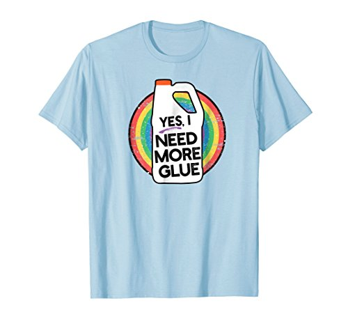 Yes I need More Glue, Kids Slime t-Shirt (Glue Gift)