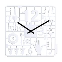 Kikkerland Model Kit Clock