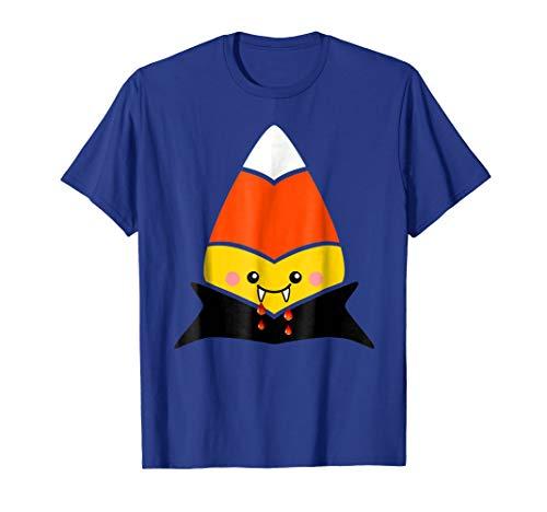 Vampire Dracula Candy Corn T-Shirt Costume Halloween -