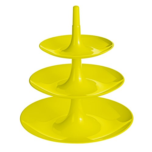 Koziol 3180582 Large Babell Etagere, Solid Mustard Green by Koziol (Image #1)