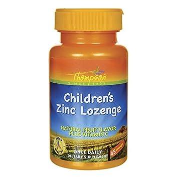 Amazon Com Children S Zinc W C 45 Lozenges Health Personal Care