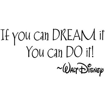 Amazoncom If You Can Dream It You Can Do It Walt Disney