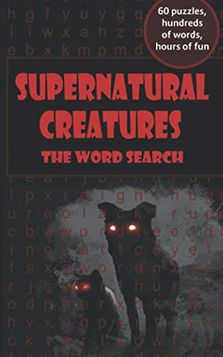 Supernatural Creatures: the word search