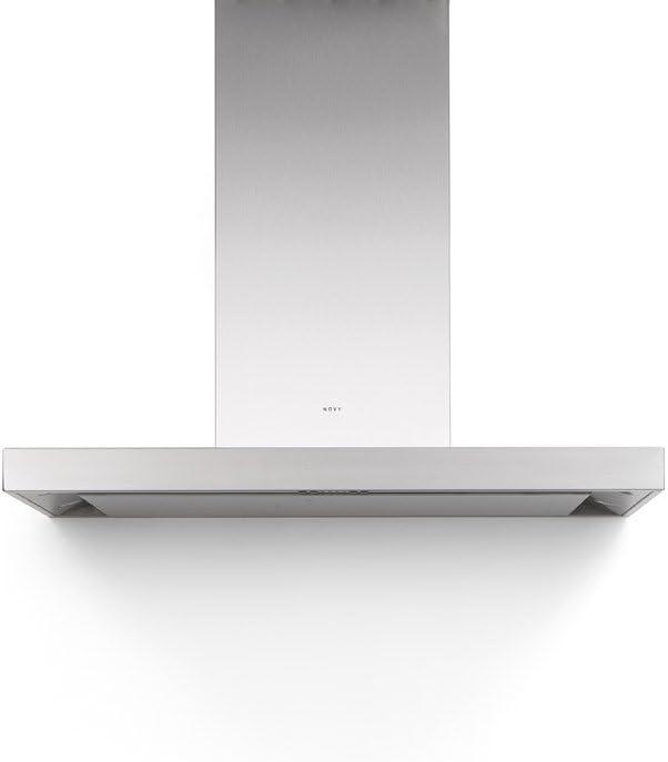 Novy Flatline 7610 - Campana de pared (acero inoxidable, 120 cm): Amazon.es: Grandes electrodomésticos