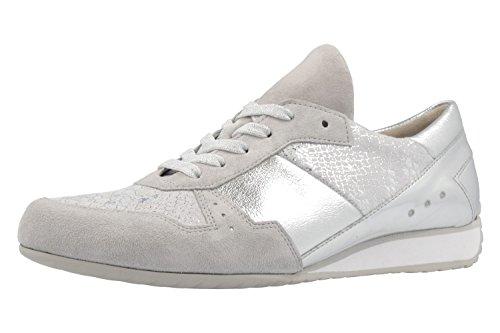 Gabor Women's Damen Sneaker Lace-Up Flats Grey