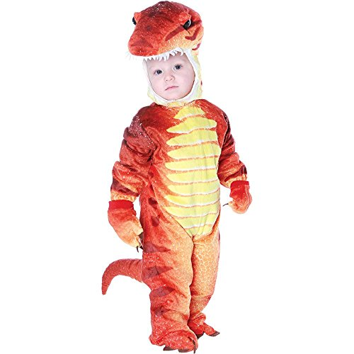 [T-Rex Toddler Costume Rust - X-Large] (Child Rust T-rex Costume)