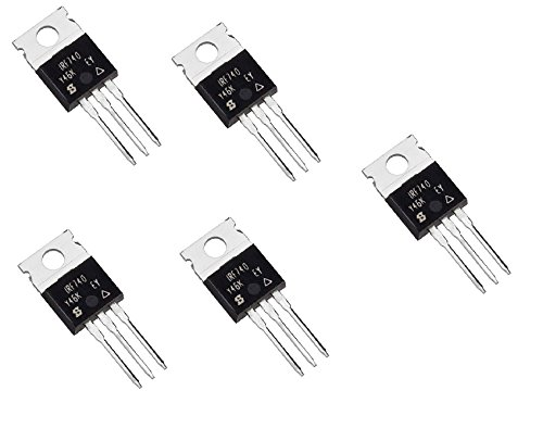 orlov 5x IRF740 TO-220 N-Channel Power MOSFET 400V 10A