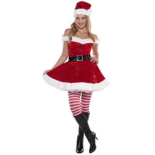 Amscan 841083 Christmas Costume, Small, Red, White ()