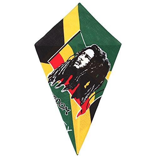 Bandana Bob Marley Freedom Head Scarf (Bob Marley Bandana)