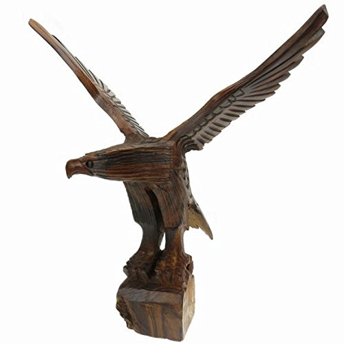 (Ironwood Eagles Wings Spread Carving - 5 inch Tall )