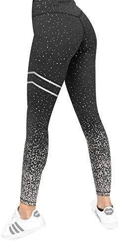 Vshiaifen ヨガウェア ヨガ レギンス ヨガパンツ ウエア 柄レギンス 冬 スポーツパンツ スポーツウェア 着圧レギンス ヨガスパッツ フィットネス フィットネスウェア レディース ストレッチ パンツ おしゃれ (Color : Black, Size : S)